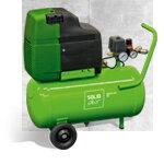 Piestový kompresor ESOair Soliddrive 205 OF - hobby bezolejový kompresor 1,1 kw 205 l/min, vzdušník 6 litrov
