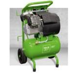 Piestový kompresor ESOair Soliddrive 250 mobile - 250 l/min, 1,5 kw dielenský stavebný profi kompresor, vzdušník 20 litrov
